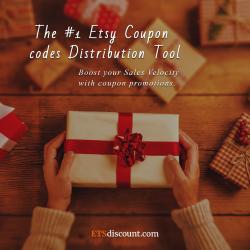 Etsy parduotuvių nuolaidų kuponai ir kodai